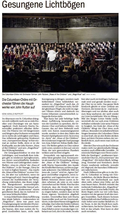 Kritik Südkurier 13.10.2014